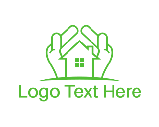Home - Green Property logo design
