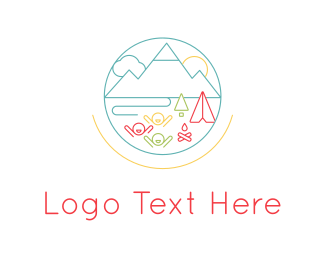 Campfire - Summer Camp logo design