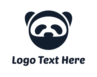Tech -  Ninja Panda logo design