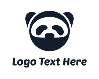 Hack -  Ninja Panda logo design