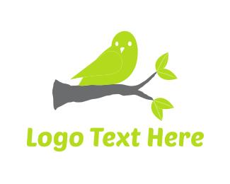 Branch - Green Canary logo design