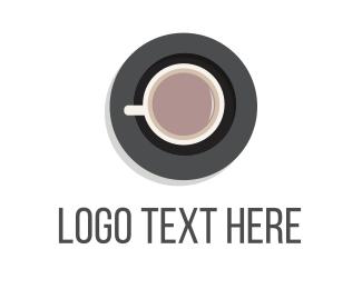 Drinking - Morning Tea & Coffee logo design