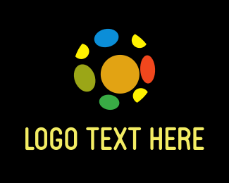 Colorful - Colorful Ball logo design