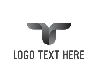 Letter - T Logo logo design