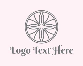 Morocco - Floral Circle logo design