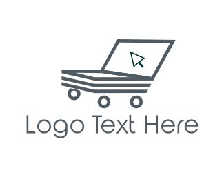 Shopping Cart - Online Cart logo design
