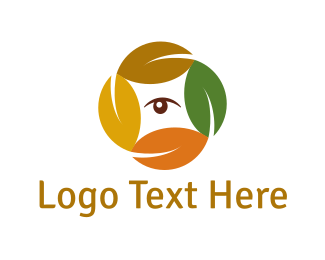 Nature - Natural Circle logo design