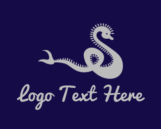 Silver - Silver Dragon logo design