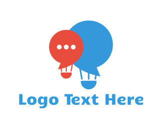 Forum - Speech Balloons logo design