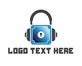 Music - Safe Music logo design