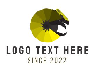 """Yellow Armadillo"" by logobeginner"