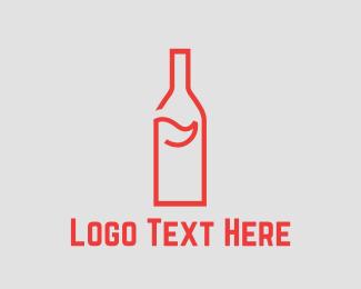 Bottle - Bottle Golf logo design