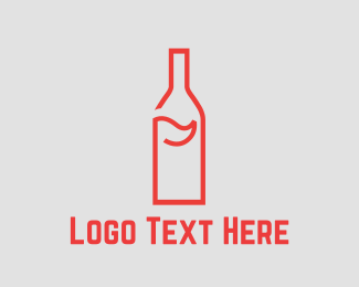 Putt - Bottle Golf logo design