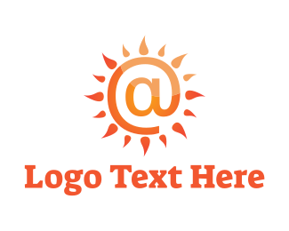 Social Network - At Sun logo design
