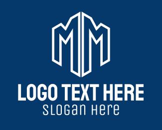 Text - Blue Letter B logo design