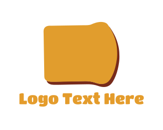Toast - Bread Slice logo design