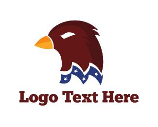 American - American Hawk logo design
