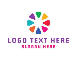 Draw - Crayon Circle logo design