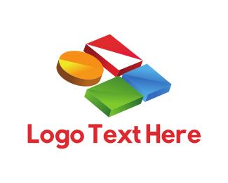 Shape - Colorful Buttons logo design