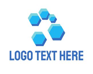 """Blue Hive"" by LogoBrainstorm"