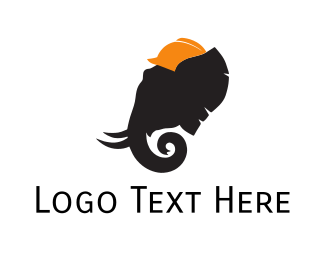 Contractor - Elephant Architect logo design