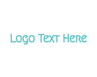 Minimalist Blue  Logo