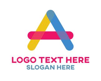 Children - Preschool Letter  A logo design