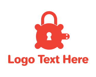 Security Service - Secure Turtle Lock logo design
