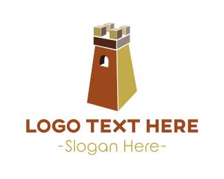 Mortgage Broker - Castle Tower logo design