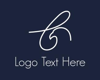 Falcon - Letter L Eagle logo design