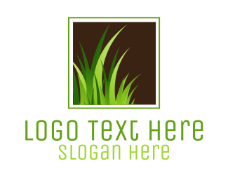 Plant - Green Grass logo design