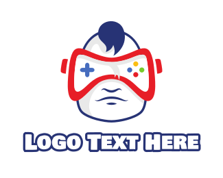 Baby - Baby VR Gaming logo design