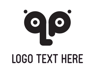 Visual - Black Eyes logo design