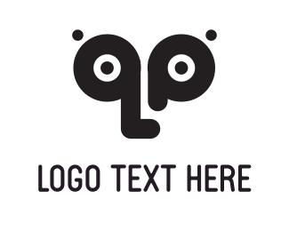 Visual - Black Eyes logo design