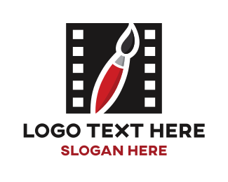 Filmstrip - Art Film logo design