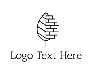 Brick - Eco Construction Logo logo design