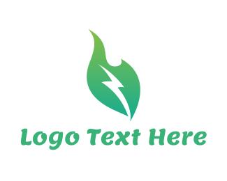 Electrical - Power Plant logo design