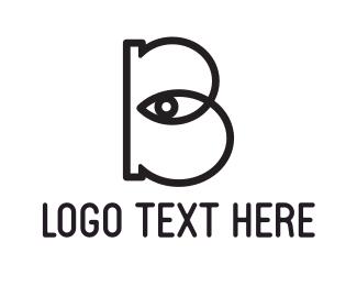 """""""Eye Letter B"""" by cadebagley"""