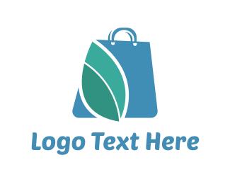 Marketplace - Blue Bag logo design