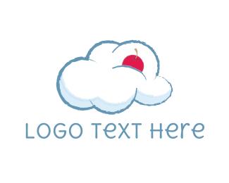 Sky - Cloud & Cherry logo design