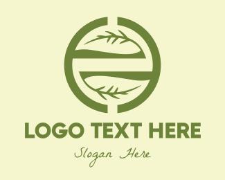Twig - Branch Circle logo design