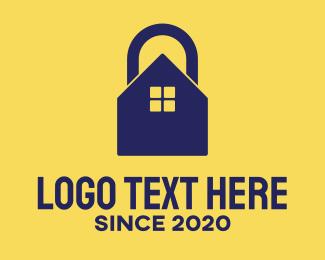 Alarm - Home Lock logo design