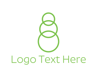 Number 8 - Green Chain logo design