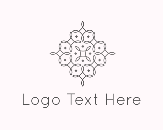 Fancy - Elegant Flower Lines logo design