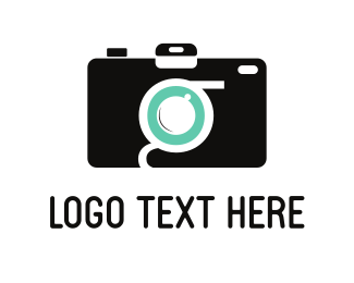 Snap - Black Camera logo design