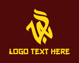 Trend - Yellow VA Vandal logo design