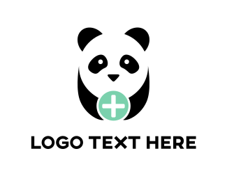 Panda - Panda Plus logo design