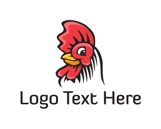 Southern - Chicken Head logo design