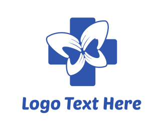 Hospice - Blue Cross Health Care logo design