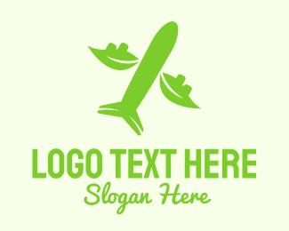 Flyer - Eco Plane logo design